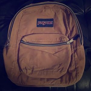 Vintage Jansport corduroy backpack